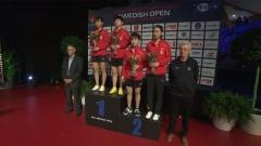 Swedish Open 2018 - Women´s Doubles Award Ceremony