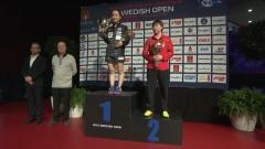 Swedish Open 2018 - Women´s Singles Award Ceremony
