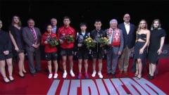Austrian Open 2018 - Mixed Doubles Award Ceremony