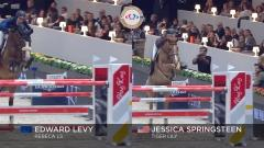 Riders Masters Cup Paris: Edward Levy vs Jessica Springsteen