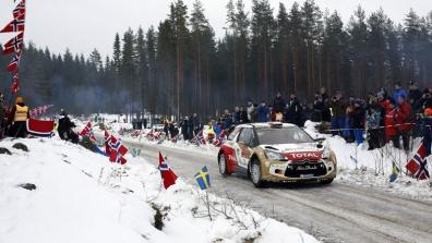 Citroenracingmedia | Stages 16-20: Rally Sweden 2014