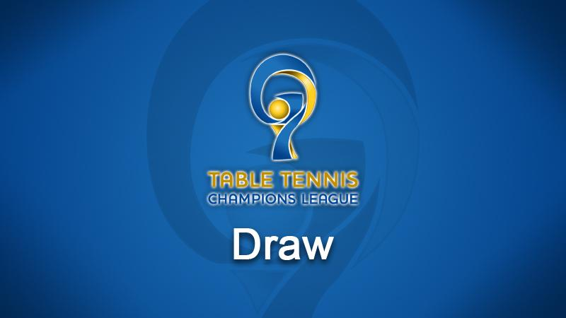 Table Tennis Champions League - Draw | Livestream | LAOLA1 tv
