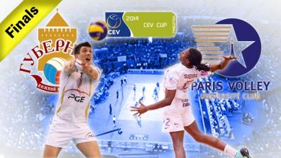 FINAL 1st leg: Guberniya Nijniy NOVGOROD - PARIS Volley