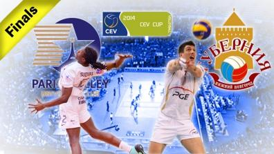 FINAL 2nd leg: PARIS Volley - Guberniya Nijniy Novgorod