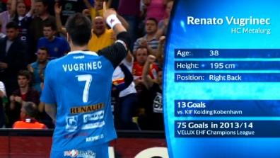 Player of the Round Last 16 - 2nd Leg: Renato Vugrinec