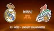 Real Madrid - Lokomotiv Kuban Krasnodar