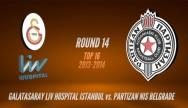 Galatasaray Liv Hospital - Partizan mt:s Belgrade