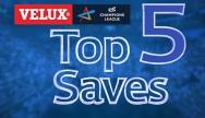 Top 5 Saves: Quarter Finals 1st Leg