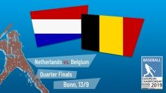Euro 2019 - Quarter Final - Netherlands vs. Belgium