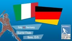 Euro 2019 - Quarter Final - Italy vs. Germany