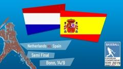 Euro 2019 - Semi Final - Spain vs. Netherlands