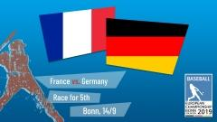 Euro 2019 - Placement Round - France vs. Germany