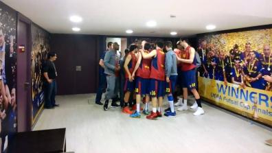 Euroleague: Google Glass point of view