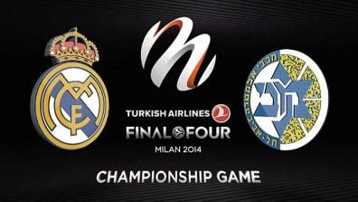 Final: Real Madrid - Maccabi Electra Tel Aviv