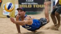 THE HAGUE - SF2 M: Alison/Bruno (BRA) - Rosenthal/Dalhausser (USA)