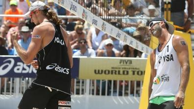LONG BEACH - SF1 M: Fijalek/Prudel (POL) - Rogers/Brunner (USA)