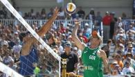 LONG BEACH - SF2 M: Walkenhorst/Windscheif (GER) - Rosenthal/Dalhausser (USA)
