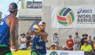 LONG BEACH - 3rd place M: Rogers/Brunner (USA) - Walkenhorst/Windscheif (GER)