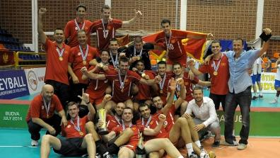 CEV European League 2014 Men: Award Ceremony