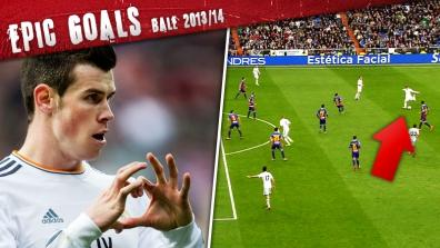getty | Epic Goal made in Wales! Bale aus 30 Metern