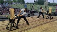 Stihl Timbersports Series: German Championships Action Clip