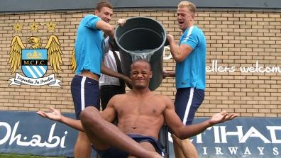 Kompany, Agüero & Co.and the Ice Bucket Challenge