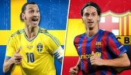 getty | Zum 50er: Ibra-Volltreffer im Barca-Dress