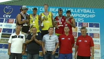 CEV Baku Masters: Men's award ceremony