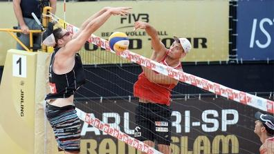 SAO PAULO - 3rd place M: Losiak/Kantor (POL) - Binstock/Schachter (CAN)