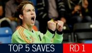 Top 5 Saves: Round 1