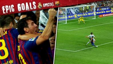laola1 | Epic Clasico Goals: David Villa