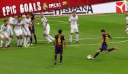 laola1 | Casillas chancenlos! Messi umkurvt Mauer