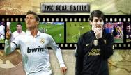 getty | Epic Goal Battle: CR7 vs. Messi (Round 1)