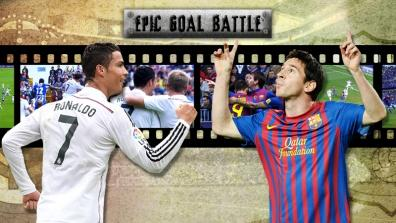 getty | Ronaldo vs. Messi: Das Luftduell!