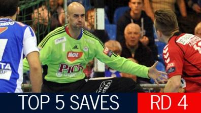 Top 5 Saves: Round 4