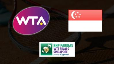 WTA Finals Singapur - SF1: Serena WILLIAMS - Caroline WOZNIACKI