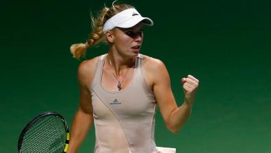 getty | Great point of Caroline Wozniacki