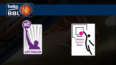 BG Gottingen - Telekom Baskets Bonn