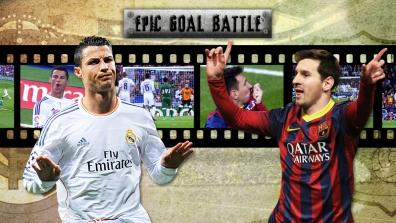 getty | Epic Goal Battle: CR7 vs. Messi (Round 3)