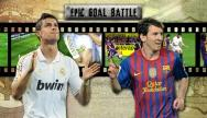 getty | Epic Goal Battle: CR7 vs. Messi (Round 5)