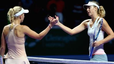 getty | Sharapova vs. Wozniacki: The best points!