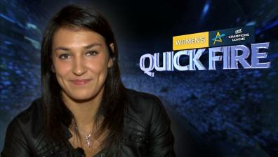 Quick Fire with Cristina Neagu
