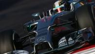 F1 United States GP - Circuitpreview with Lewis Hamilton