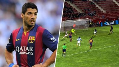 getty | Luis Suarez with a great assist