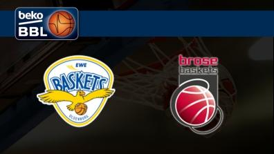 EWE Baskets Oldenburg - Brose Baskets Bamberg