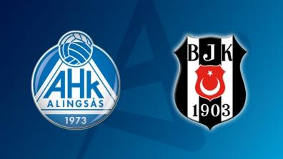 Full Match: Alingsas HK - Besiktas MOGAZ HT