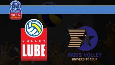 Cucine Lube TREIA - PARIS Volley