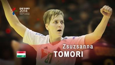 Key Players: Zsuzsanna Tomori | EHF EURO 2014