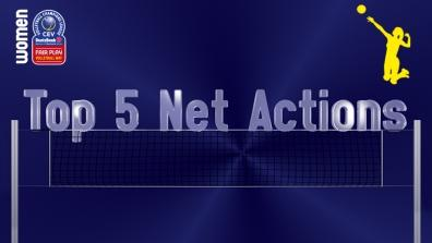 laola1 | Leg 2: Top 5 Most Spectacular Net Actions