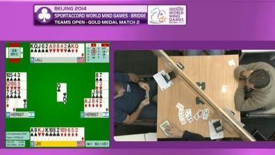World Mind Games - Day 4: Bridge, Draughts, Chess